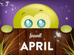 The Last Week of April!