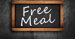 Free Meals Until December!