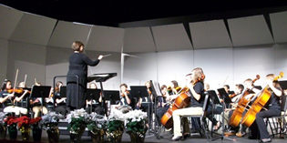 """Orchestra Students Win """"Excellence"""" Award from the State"""