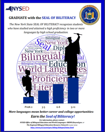 State Seal of Biliteracy Multilingual Flyers