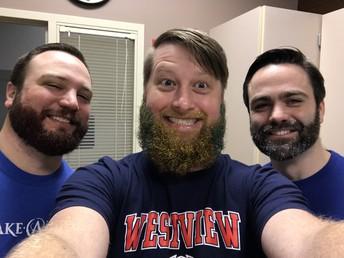 $3,000 = glitter beards!