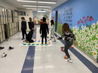 Indoor recess fun with 4P
