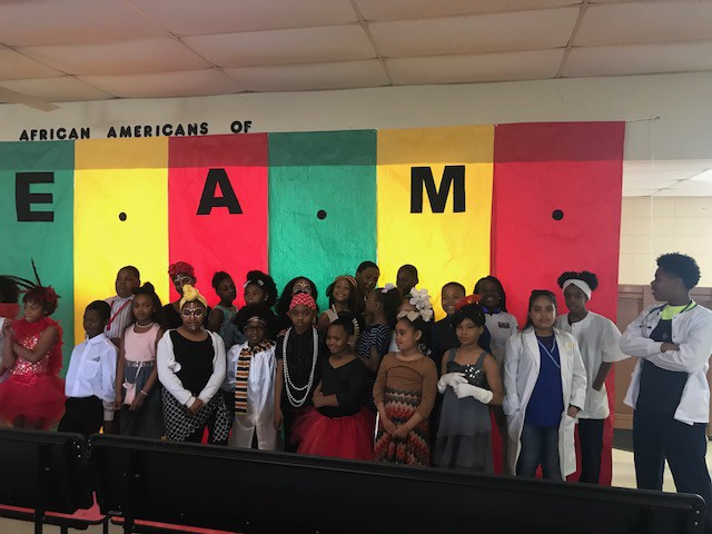 North Elementary had an extraordinary celebration of African Americans in S.T.E.A.M.