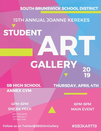 15th Annual Joanne Kerekes Student Art Gallery