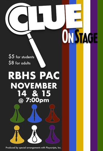 Gators of the Week: Clue on Stage Nov 14 and 15