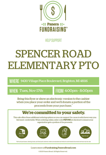 Panera Night Fundraising Event