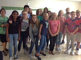 Ms. Lavery's Spanish Class
