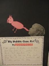 Art Ideas for Bubble Gum