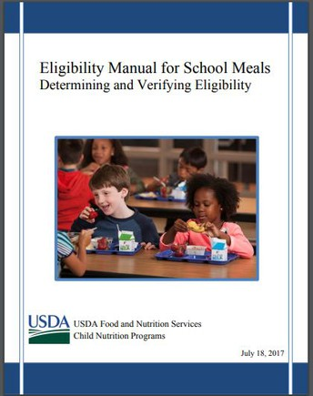 USDA's Eligibility Manual for School Meals