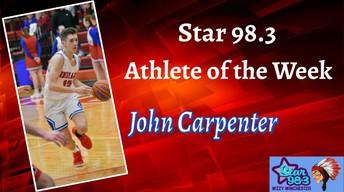 John Carpenter Named Athlete Of The Week (Week of 3/2/20)