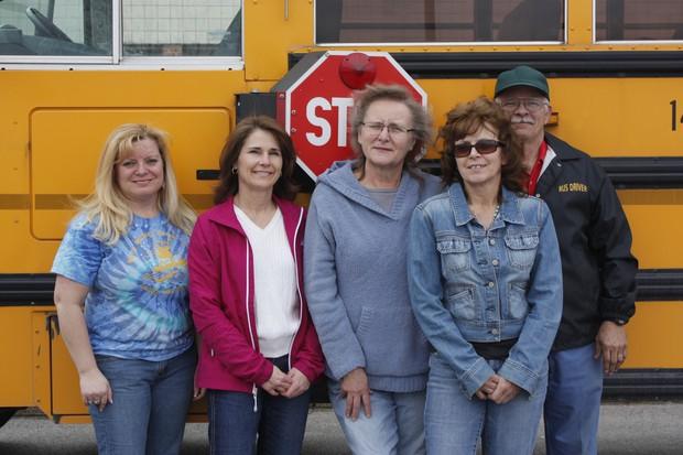 Tina Simmons, Kathleen Wolfe, Debbie Cline, Sarah Moyers, and Karol Messick