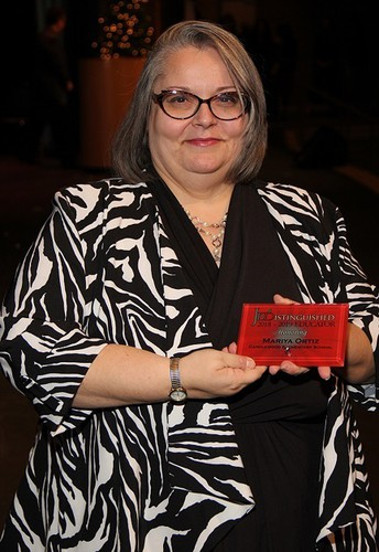 Judson High School Librarian, Mariya Ortiz