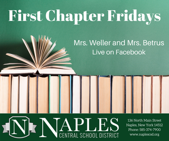 First Chapter Fridays with Mrs. Weller and Mrs. Betrus!