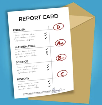 Report Cards Posted Wednesday February 5, 2021