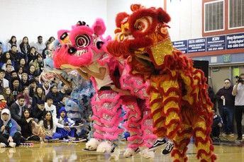 Chinese Lion Dancers Club
