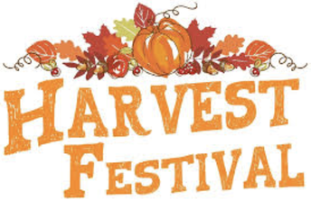 Information about our Harvest Festival on 25th October