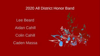 Lee Beard, Aidan Cahill, Colin Cahill, Caden Massa