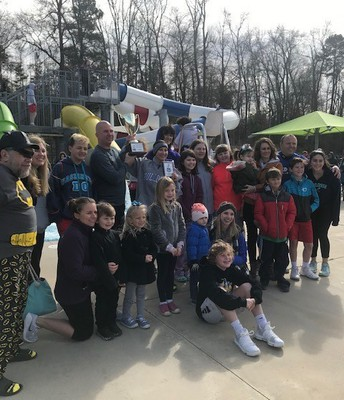 Polar Plunge for Special Olympics ($4,000 Raised)