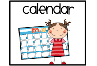 Printable February Club and Events Calendar