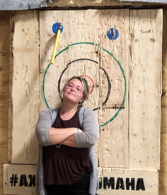 8A went ax throwing!