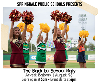 Back to School Rally