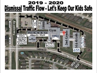 Dismissal Traffic Map