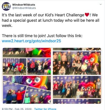 Kid's Heart Challenge!
