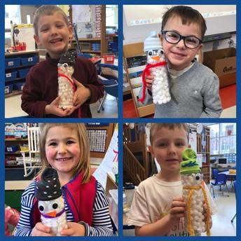 Snowmen in the Classroom!