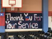 Awesome Veterans Day Program!