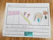 Mrs. Bernal's students can write sentences!