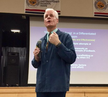 Rick Wormeli challenges with SBG!