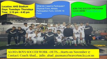 Be part of Warrior Soccer