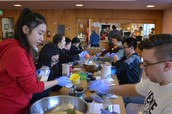 Applesauce Making: MLK Day of Service