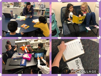 2nd grade reading stations