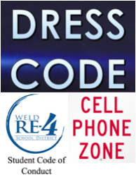 Dress Code/Cell Phone/Student Code of Conduct