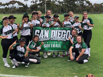 Softball wins CIF!