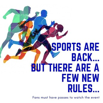 Spring Sports Start April 5th - Sign up NOW   Golf-Tennis-Track & Field- Softball- Baseball
