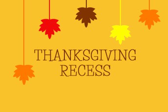 Thanksgiving Recess