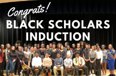 Black Scholars Program Inducts Newest Members