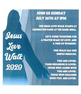 Prayer Walk - This Sunday at 1:00 p.m.