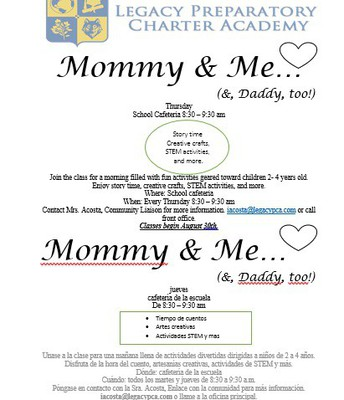 Mommy & Me Toddler Class