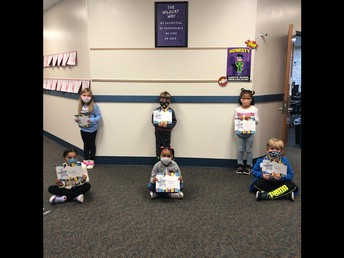 Grade 1 Students of the Month