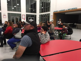 Parents & Students Listen About The Importance of Attendance