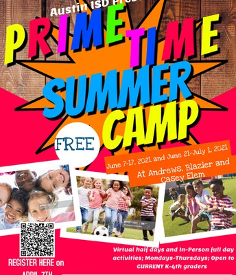 PRIME TIME SUMMER CAMP