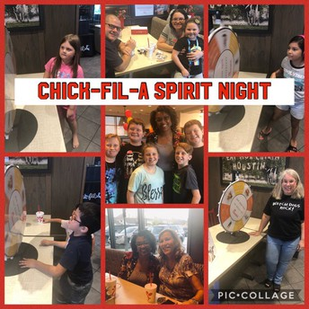 Chick Fil-A Spirit Night