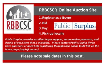 RBBCSC Auction Items