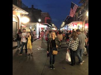 Jessica on Bourbon Street