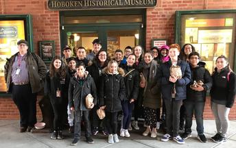 7th Graders Visit Hoboken Historical Museum
