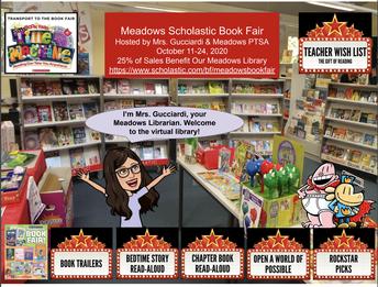Virtual Scholastic Book Fair Starts on 10/11