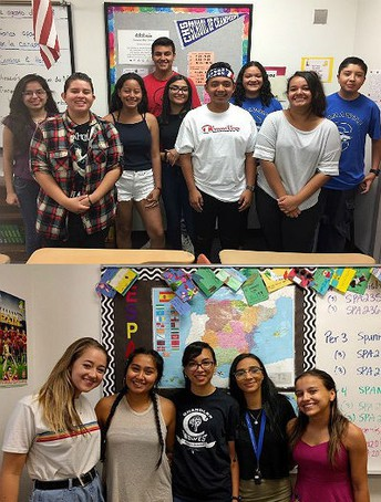 Chandler High World Language student translators